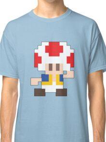 Super Mario Maker - Toad Costume Sprite Classic T-Shirt