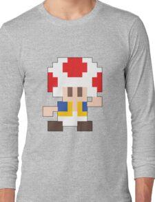 Super Mario Maker - Toad Costume Sprite Long Sleeve T-Shirt