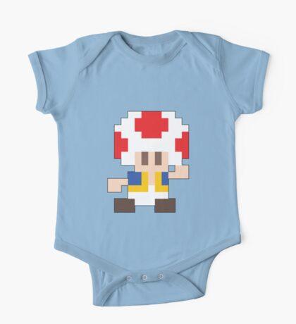 Super Mario Maker - Toad Costume Sprite One Piece - Short Sleeve