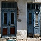 Old Blue Doors by Paul Barnett