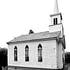 NEW ENGLAND CHURCH (CARD ONLY) by Thomas Barker-Detwiler