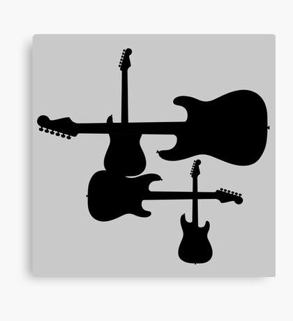 Fenders Canvas Print
