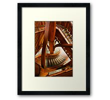 Stair Structure Framed Print
