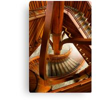 Stair Structure Canvas Print