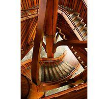 Stair Structure Photographic Print