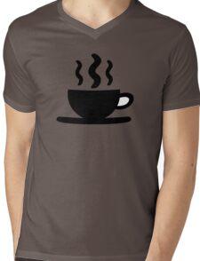 Coffee Cup Mens V-Neck T-Shirt