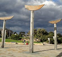 Swinging Boats, Parramatta River, NSW, Australia 2012 by muz2142