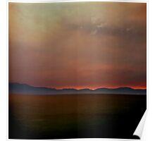 Lake Tahoe Sunset #3 Poster