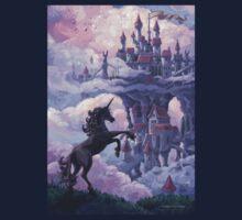 Unicorn Castle Kids Tee