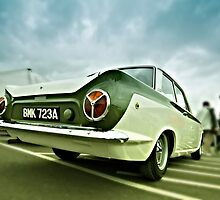 Lotus Cortina by Nigel Bangert