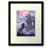 Unicorn Castle Framed Print