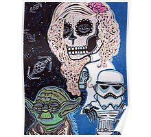 Star Wars Sugar Skull Poster