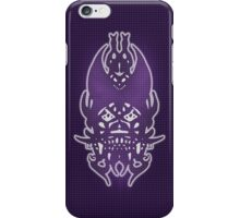 Purple Grid Clown iPhone Case/Skin