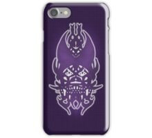 Purple Grid Clown iPhone Case/Skin