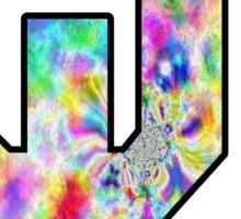 Oklahoma University Logo Trippy Sticker