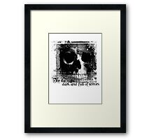 For the night is dark and full of terrors... Framed Print