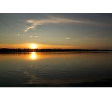 The Setting Sun - Dacre, Ontario Photographic Print