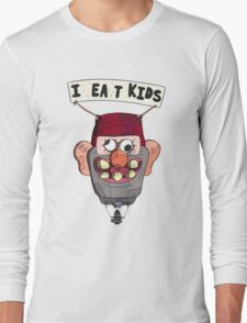 gravity falls i eat kids balloon  Long Sleeve T-Shirt