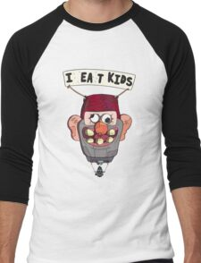 gravity falls i eat kids balloon  Men's Baseball ¾ T-Shirt