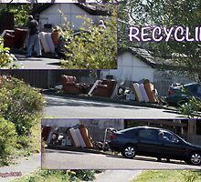 Recycling.......one man's goods is another man's possibilities. by MrJoop