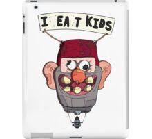 gravity falls i eat kids balloon  iPad Case/Skin