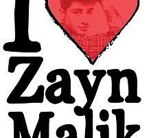 I Heart Zayn Malik by stuff4fans
