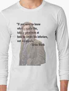 Sirius telling the truth  Long Sleeve T-Shirt