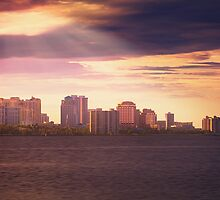 West Palm Beach Skyline by DDMITR