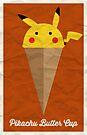 Pikachu Butter Cup by Adam Grey