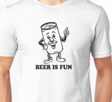 BEER IS FUN GOLD BEER PONG PARTY Unisex T-Shirt