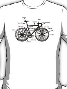 Bike Anatomy Funny Geek Geeks T-Shirt