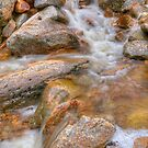 Mountain Stream - White Mountains National Park NH by JHRphotoART