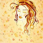 Feminine Intuition no. 1 by Lisa Frances Judd ~ QuirkyHappyArt