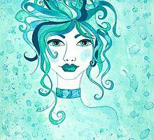 Feminine Intuition no. 2 by Lisa Frances Judd~QuirkyHappyArt