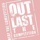 Out Last The Competition - Pink by Adamzworld