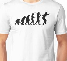 Evolution of Table Tennis or Ping Pong Mens  Unisex T-Shirt