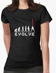 Evolution of X-Man - Cyclops Womens Fitted T-Shirt