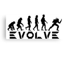 Evolution of X-Man - Wolverine Canvas Print