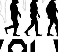 Evolution of X-Man - Wolverine Sticker