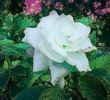 Gilded Gardenia by Ginny Schmidt
