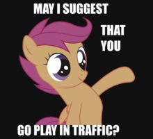 Scootaloo want's you to... by SaturdayCake