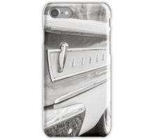 Classic Ford Edsel Black and White iPhone Case/Skin