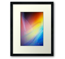 The Light Is The Art 15 Framed Print