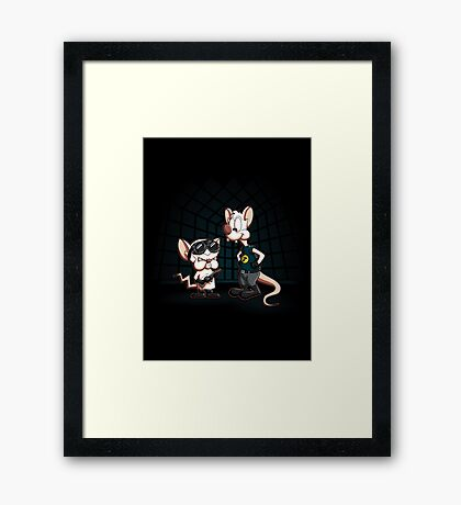 What do you want to do tonight? Framed Print