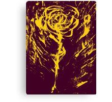 Strange Kullah'd Rose Canvas Print