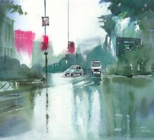 Another Rainy Day by Anil Nene