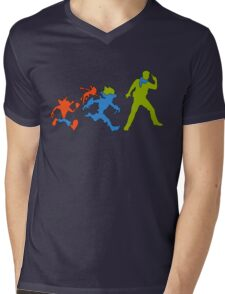 Hero Evolution Mens V-Neck T-Shirt