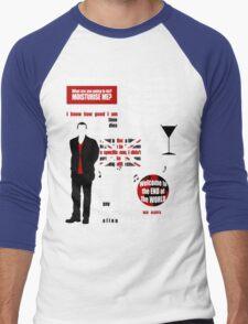 The Ninth Doctor Men's Baseball ¾ T-Shirt