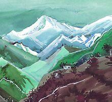 Himalaya 2 by Anil Nene