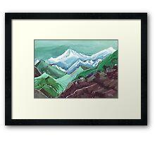 Himalaya 2 Framed Print